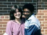 Ingrid Griffin and Ron Joyner (Hall monitor)