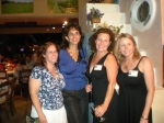 Suzie Frain, Nancy Ayoub, Carol Godfrey (Simpers) and Nikki Kourpias (Shafer)