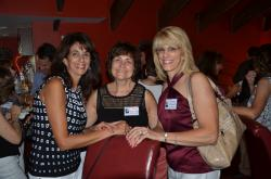 Nancy Ayoub, Niki Kavoures and Karen Kidwell